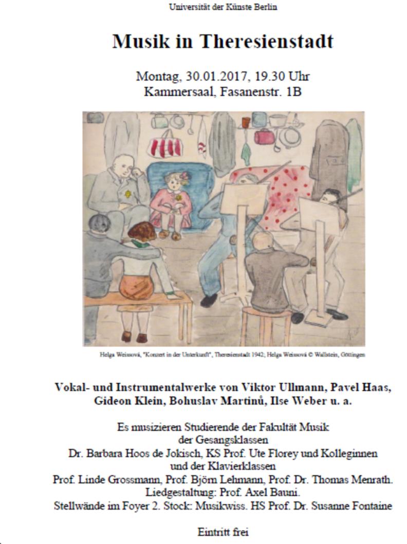 Wilko Reinhold - Konzert - Musik in Theresienstadt - Viktor Ullmann - Liederbuch des Hafis