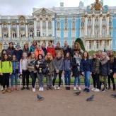 Gruppenfoto am Katharinenpalast