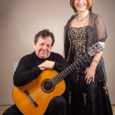 Joachim Schrader - Gitarre, Sylvia Bleimund - Sopran (ISO K)