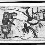 Der Kampf des Theseus mit dem Minotauros im Gehirn von Albert Einstein