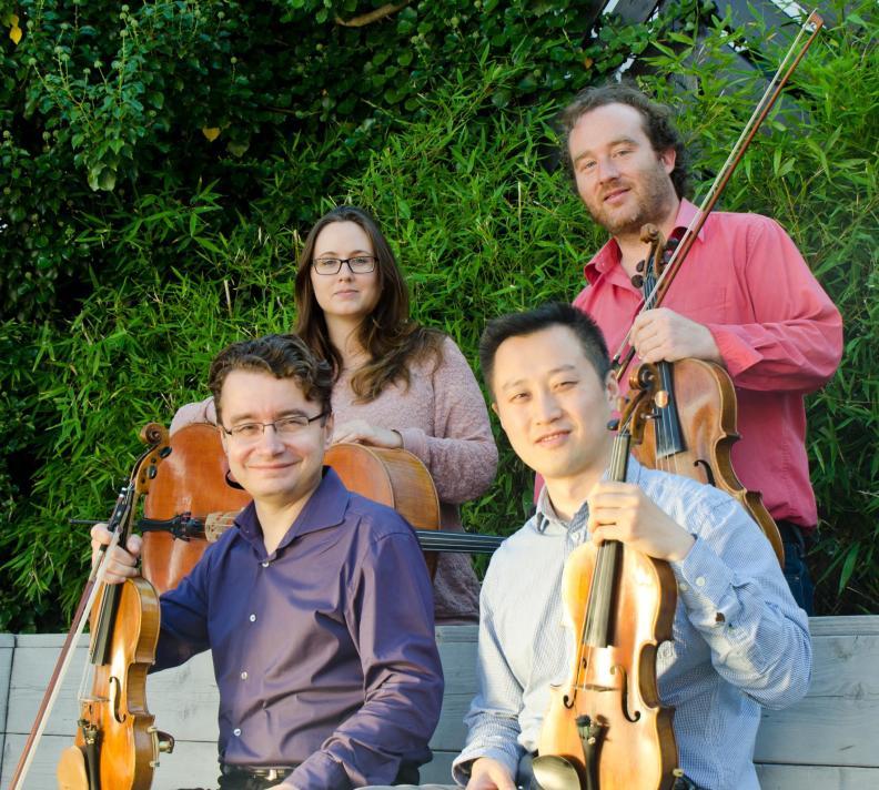 String Quartet Sergei Bolotny violin Yu Li violin Christophe Weidmann viola noelle Weidmann cello