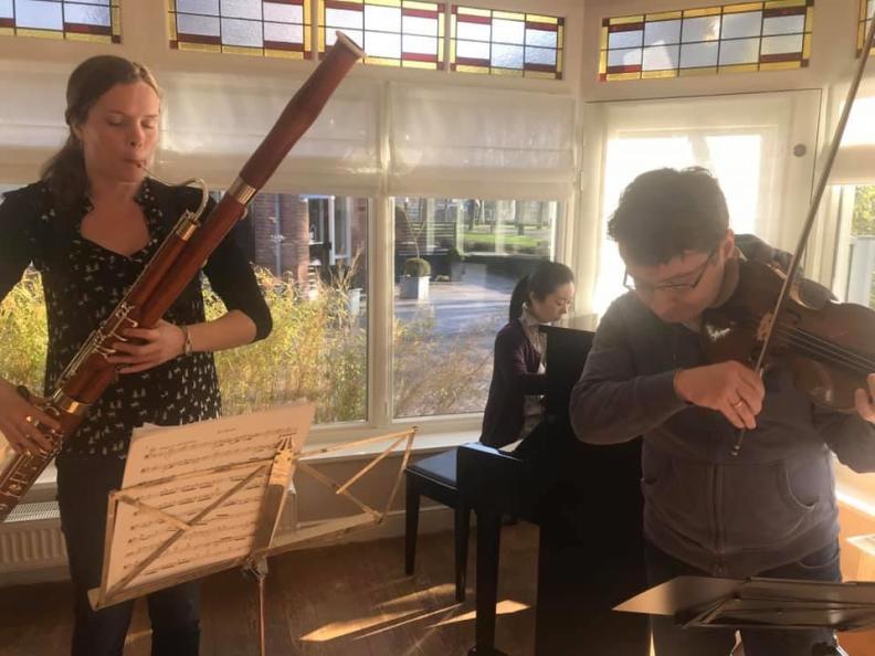 Ensemble Poulenc Sergei Bolotny violin