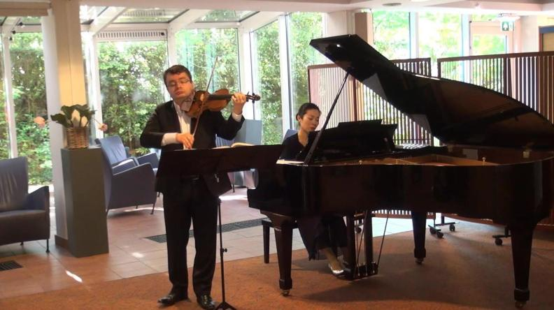 Sergei Bolotny violin Keiko Sakuma piano Westerholm Zorghuis 11.05.2019