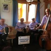 Landi Graubünden im Rest. Sartons Vabella mit Gastmusikant Hans-Andrea Toggwiler