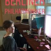 """Vor der GP für """"Ritter Parceval"""" mit den Berliner Philharmonikern"""