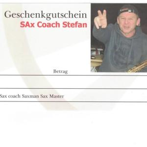 """Gutscheine""- für Playalongs backingtracks Workshops Sax Coach Stefan Lamml"