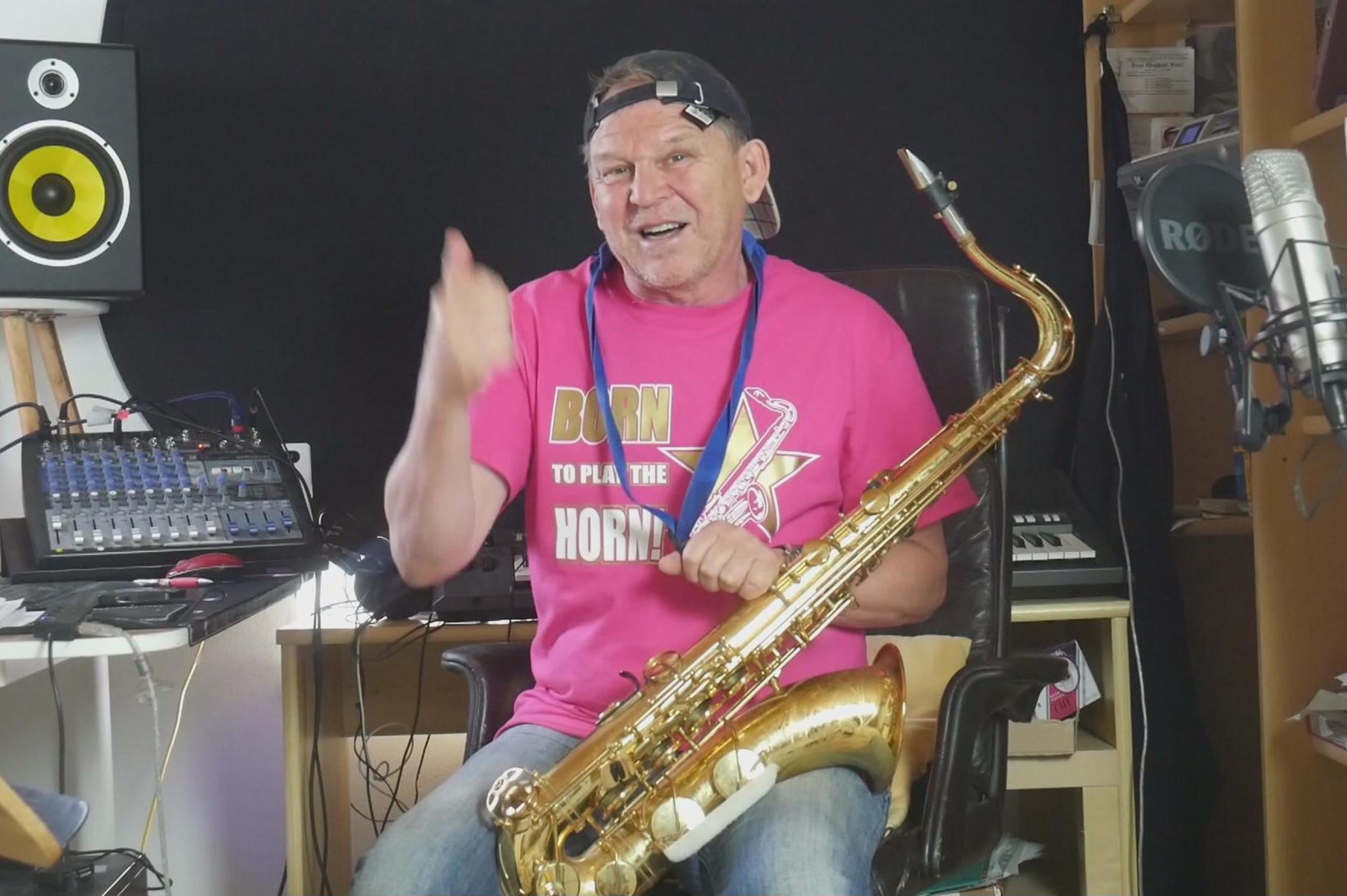 Stefan Lamml Saxman Sax Coach Sax Master