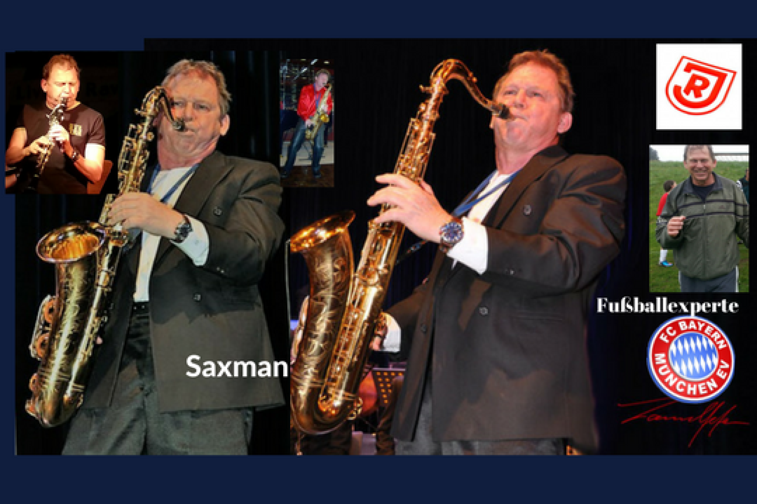 Stefan lamml Big Band Saxophon Solist Saxman und sax Coach