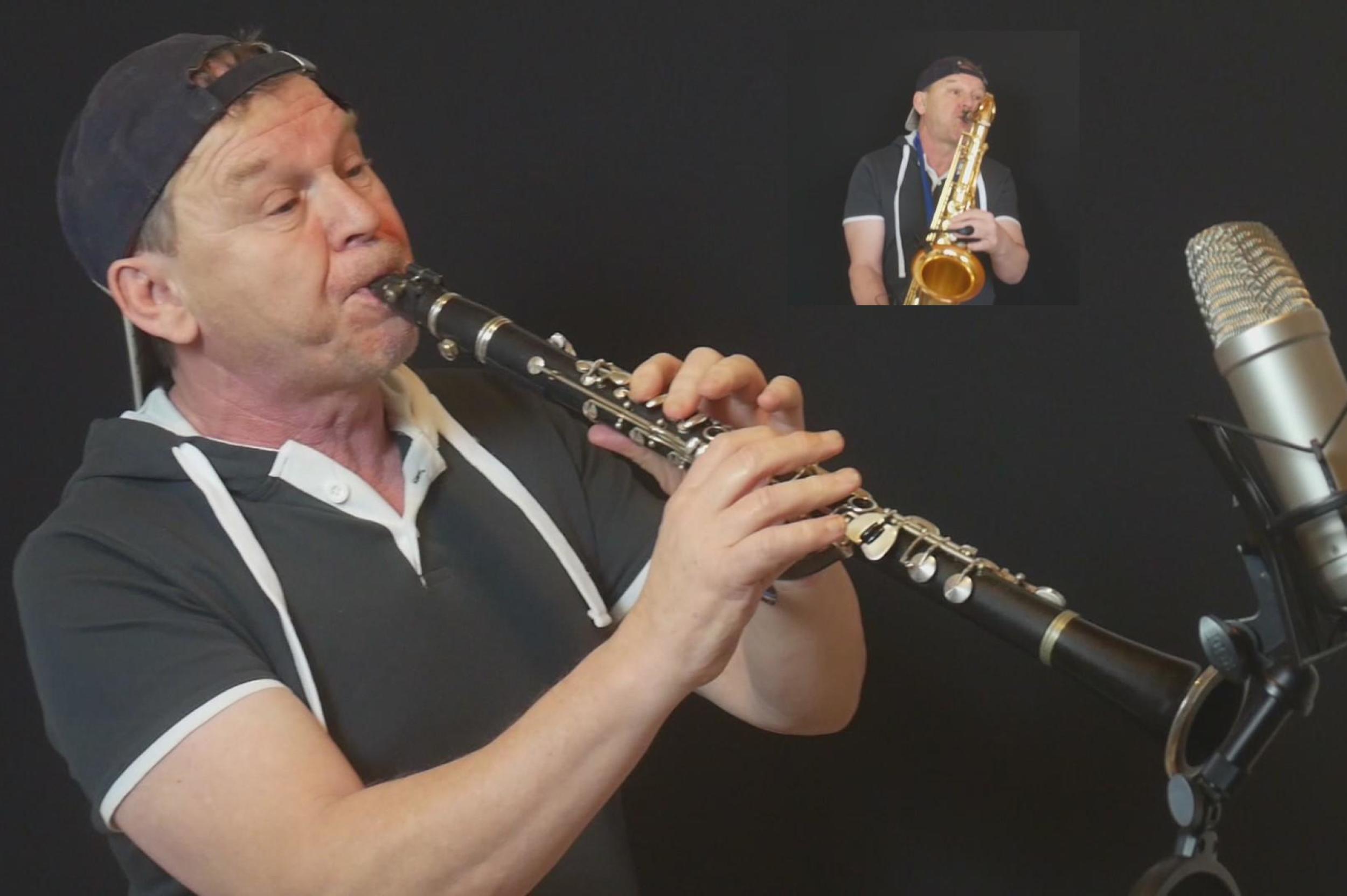 Klarinette Stefan Lamml Clarinet Man Saxman Sax Coach