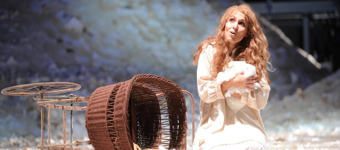 "Katja Bördner als ""Margherita"" in ""Mefistofele"" von Arrigo Boito"