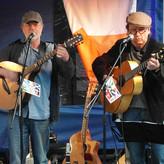 Peter und Ottmar mit Bouzouki und Gitarre
