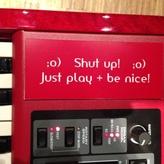 Mein Motto - ist halt oft schwer mit dem Klappe-Halten ;O)