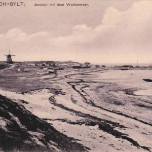 Blick von Süden auf Munkmarsch in der Zeit um 1900