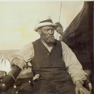 Mein Urgroßvater, der Schiffer Hans Siewertsen aus Keitum auf Sylt (Foto: Sammlung Elsa Hegwer-Borstelmann)