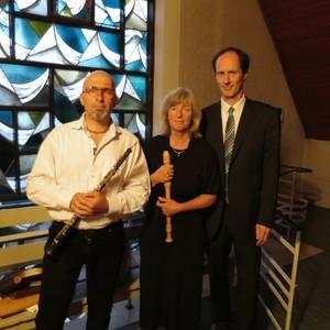 Ensemble Amabile:  Artashes Adamyan, Christina Glede, Jürgen Borstelmann