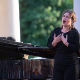Evgeny Nikiforov (Klavier), Larissa Angelini (Gesang) © Uwe Hauth