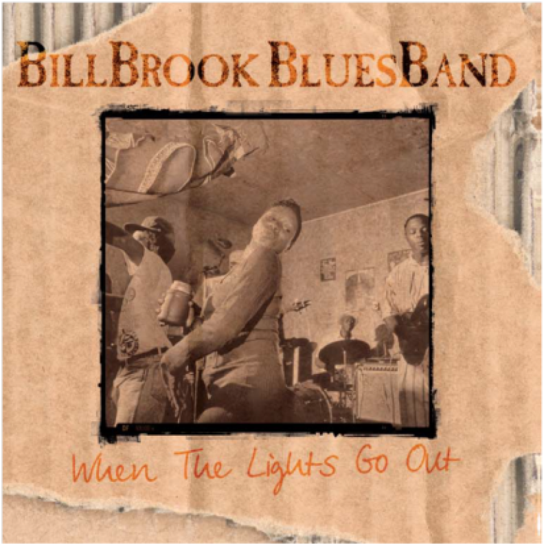 Billbrook Bluesband CD Cover