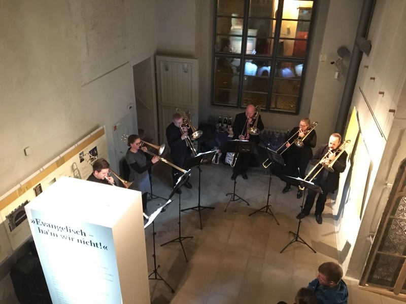 Hexenbürgermeisterhaus in Lemgo zum Reformationsjubiläum 2017
