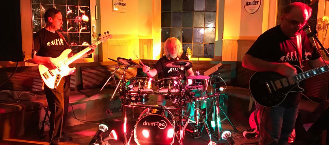 Band im Vereinshaus