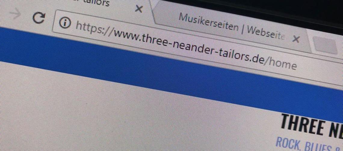 Unsere Webadresse