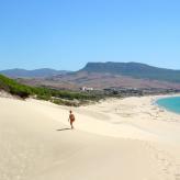 Stranderlebnis bei einer Mietwagenrundreise in Andalusien