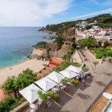 Blick vom Hotel - Costa Brava