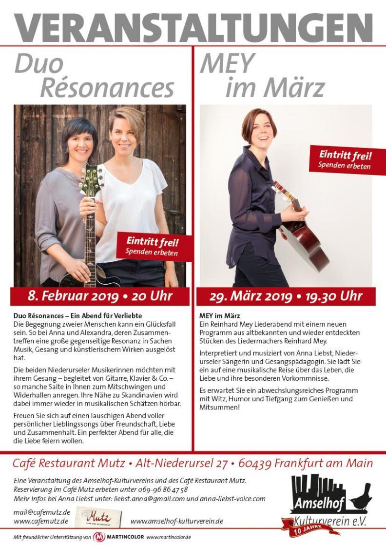 Duo Résonances Konzert
