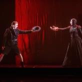 """""""Il canto s'attrista perché"""" am Stadttheater Klagenfurt (mit Iris van Wijnen, Foto: Kh. Fessl)"""