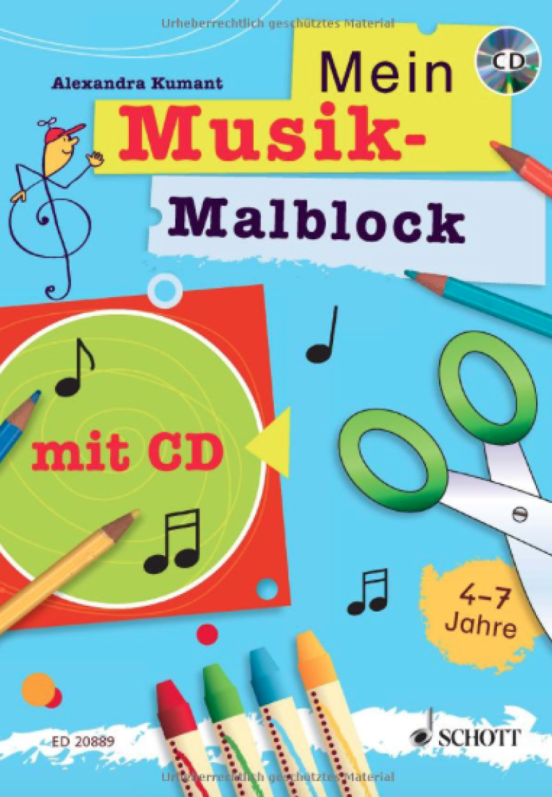 Mein Musikmalblock