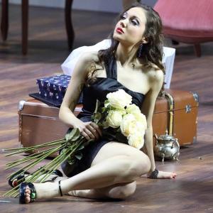 """Als Barbarina in W. A. Mozarts """"Le nozze di Figaro"""" (Bayerische Staatsoper, München). Foto von W. Hösl."""