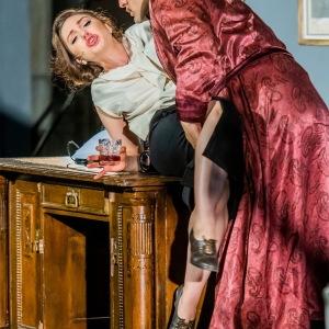 """Als Susanna in W. A. Mozarts """"Le nozze di Figaro"""" (Conte - F. Mansuroğlu, The New Generation Festival, Florenz). Foto von G. Bell."""