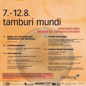 Poster_Tamburi Mundi 2007