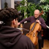 David Goltsev (16 Jahre) Jungstudent  der Kauffmann-Stiftung am Hamburger Konservatorium