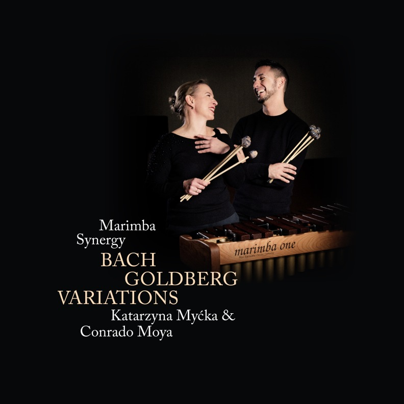 CD K. Myćka/C. Moya, Marimba Synergy, Bach - Goldberg Variations