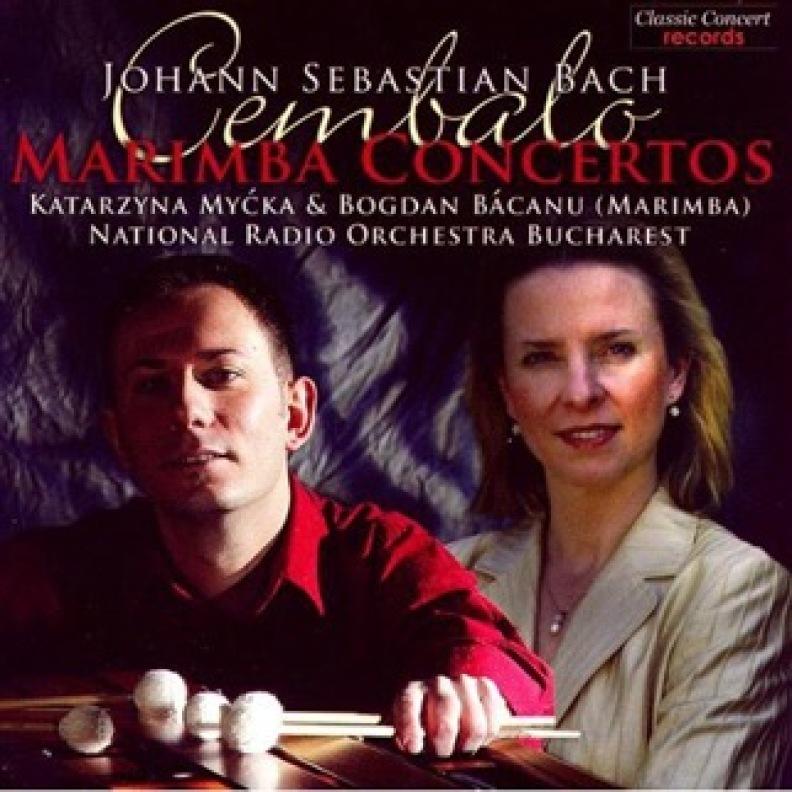 CD Bach - Cembalo/Marimba Concertos